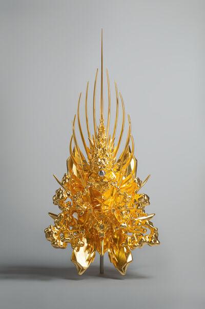 Kohei Nawa, 'Throne (g/p_pyramid)  ', 2019