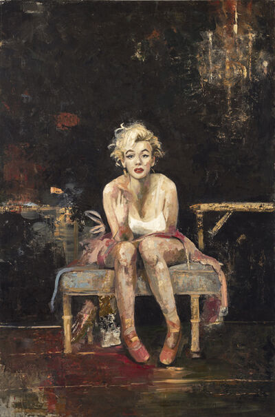 Ġoxwa, 'Marilyn in the studio'