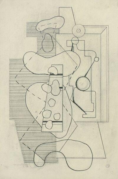 Willi Baumeister, 'Der Maler', 1928