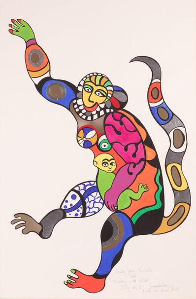 Niki de Saint Phalle, 'Monkey with Child', 1995