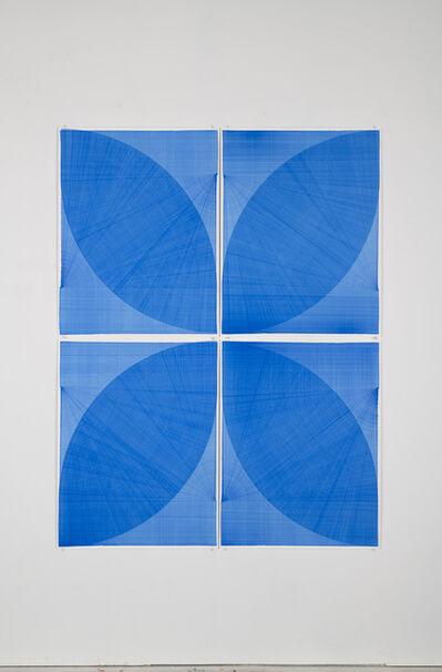 Thomas Trum, 'Two Blue Lines 02', 2020