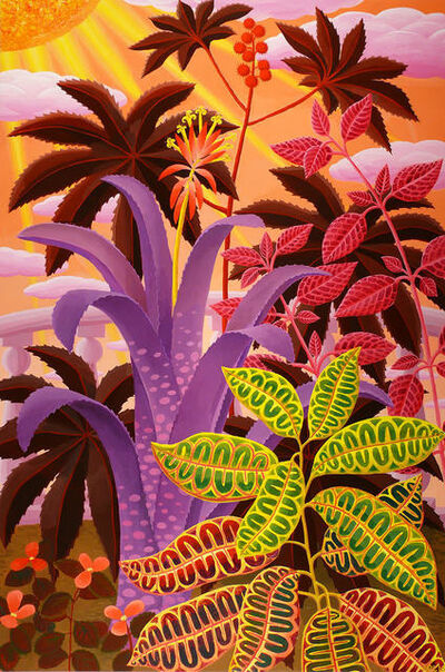 Amy Lincoln, 'Billbergia and Croton ', 2016