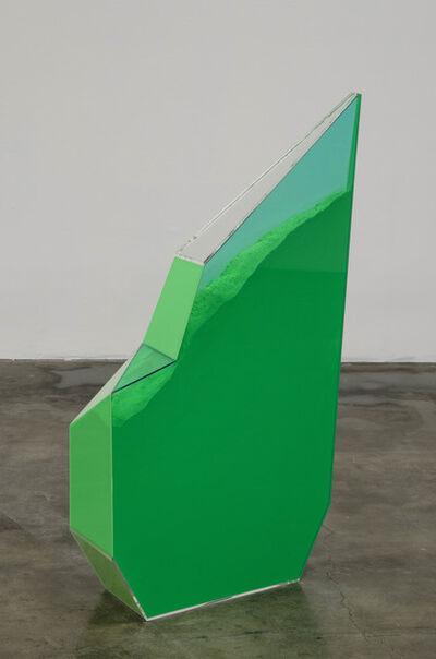 Rachel Lachowicz, 'Particle Dispersion: Chrome Green', 2013