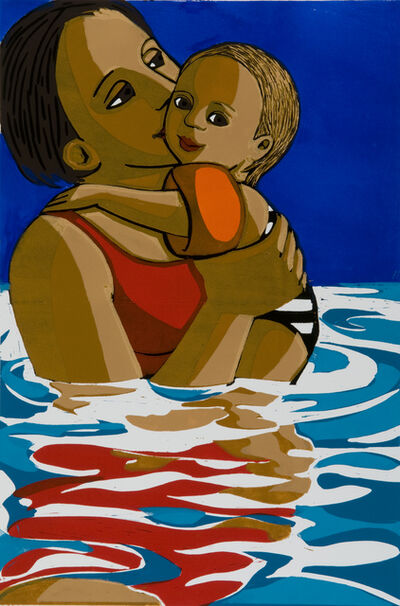 Anita Klein PPRE, 'Swimming', 2016