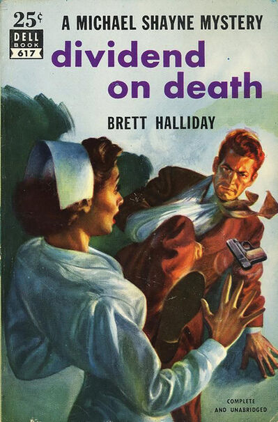 Robert Stanley, 'Dividend on Death- Paperback Cover', 1952
