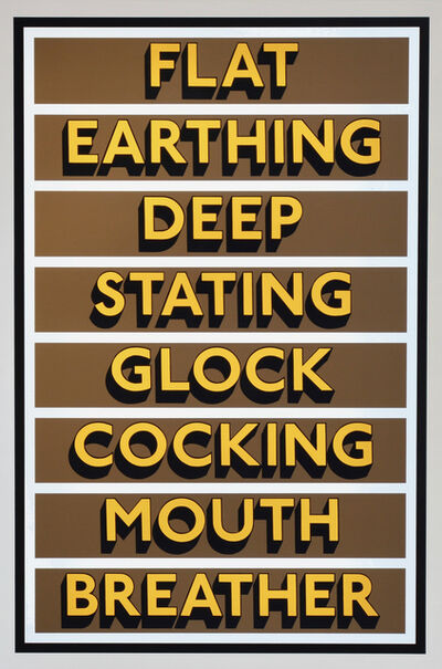 Tim Fishlock, 'FLAT EARTHING', 2021