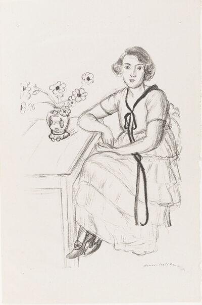 Henri Matisse, 'The Yellow Dress with Black Ribbon', 1922