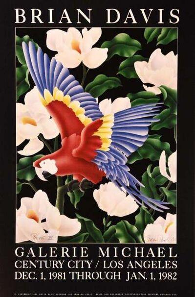 "BRIAN DAVIS, 'Galerie Michael, Century City/Los Angeles, December 1, 1981- January 1, 1982: ""Parrot III"", 1980', 1981"