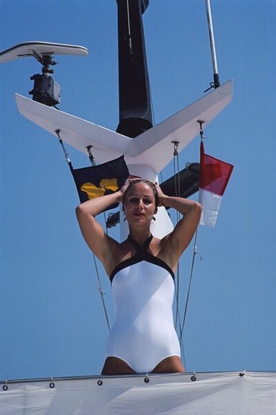 Slim Aarons, 'Viscountess Isabelle', 1981