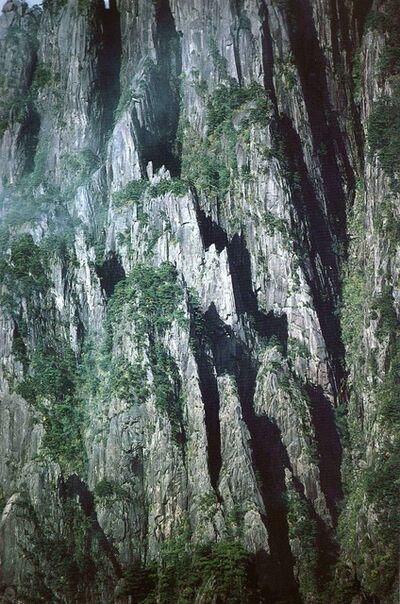 Marc Riboud, 'Huang Shan - Les parois rocheuses sous le soleil', ca. 1985