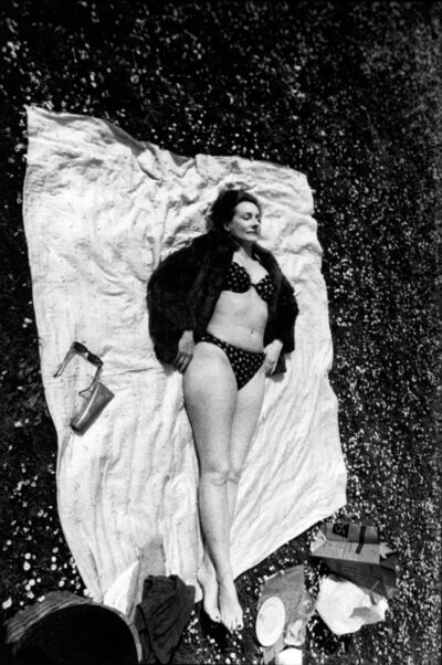 Leigh Ledare, 'Mom sunning in fur', 2006