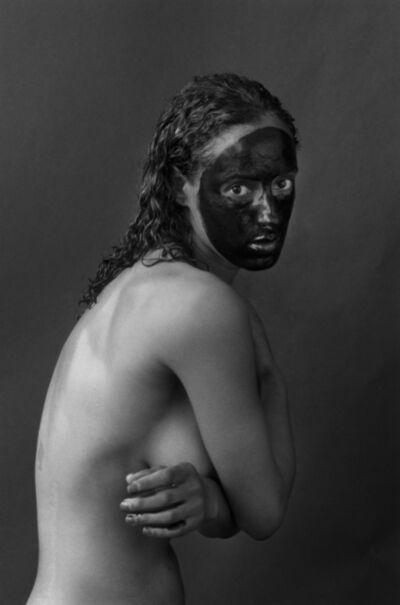 Delphine Diallo, 'Black skin, Black Mask', 2017