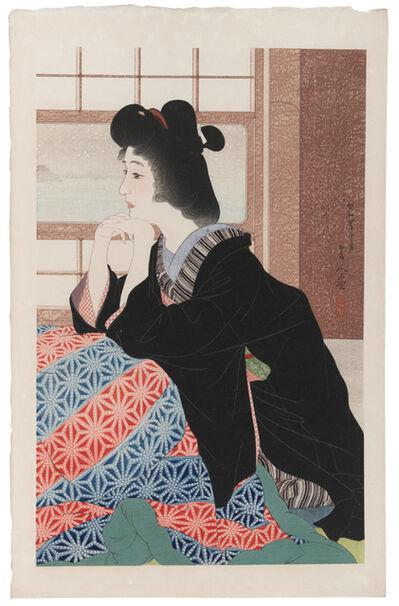 Kotondo Torii, 'Snow (Yuki)', 1929