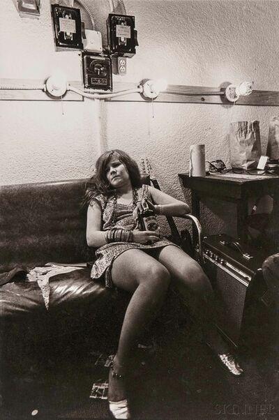 Jim Marshall, 'Janis Joplin, Backstage at the Winterland, San Francisco'
