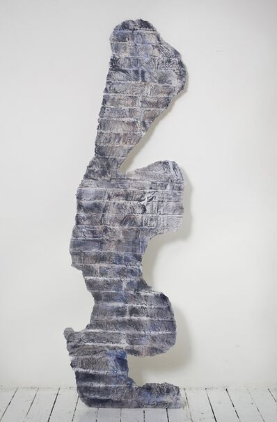 Johannes VanDerBeek, ' Wall #4 (Thunder)', 2011