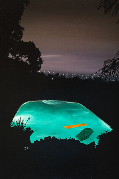 Laurence Jones, 'Study for Pool with Orange Float ', 2019