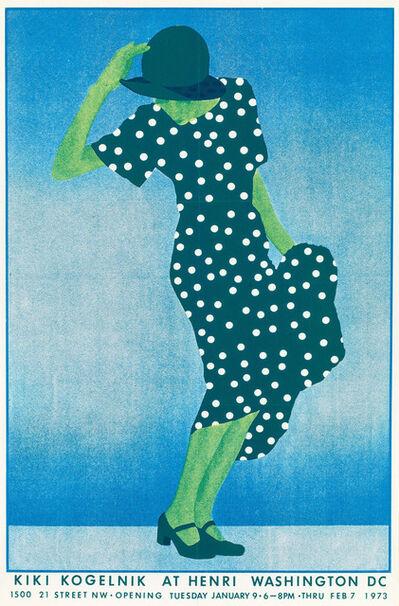 Kiki Kogelnik, 'Incognito', 1973
