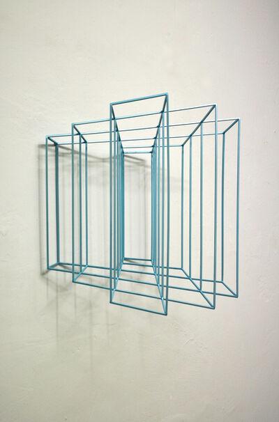 Paolo Cavinato, 'Wing #3 (metallic light blue)', 2019