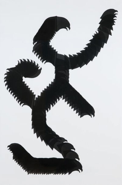 Carlos Amorales, 'Snake Glyph 3', 2010