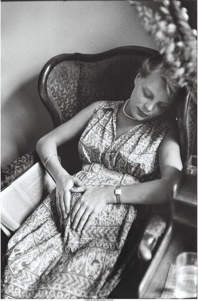 Elliott Erwitt, 'Untitled (Woman asleep in a chair), New York City', 1953