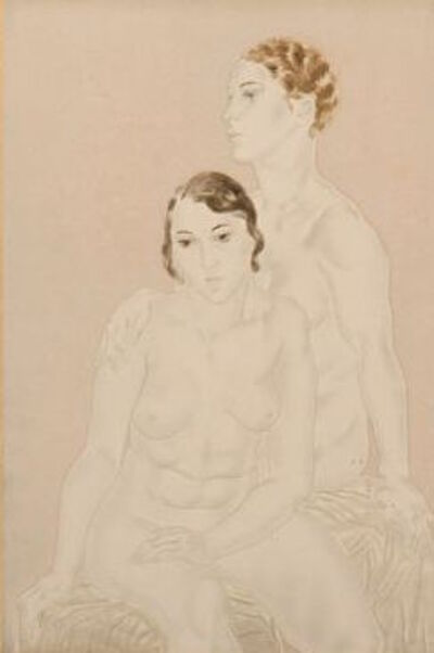 Léonard Tsugouharu Foujita, 'Les deux amies', 1930