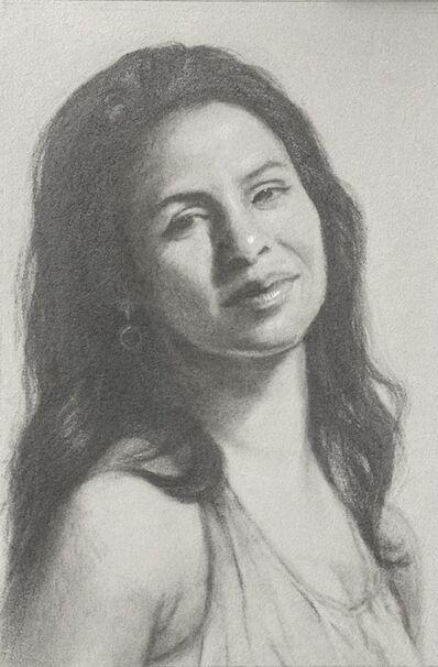 Nanette Fluhr, 'Angie', 2021