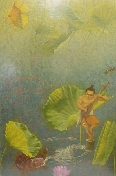 Seiichiro Ban, 'On a pond', 2017