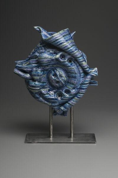 Diane Marimow, 'Blue Mollusk Sculpture'