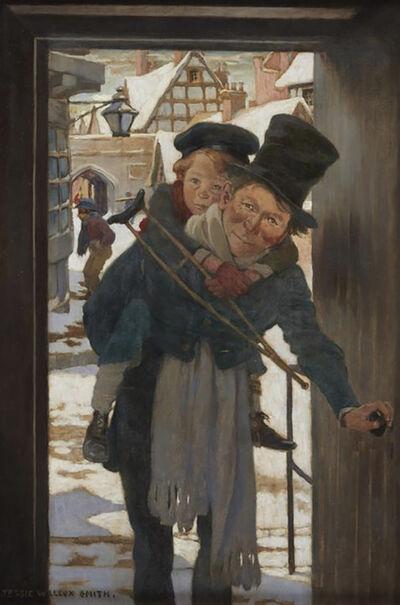 JESSIE WILLCOX SMITH, 'Bob Cratchit and Tiny Tim', 1925