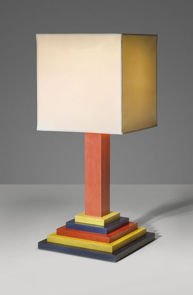 Peter Blake, 'A unique 'Step' table lamp', 1987
