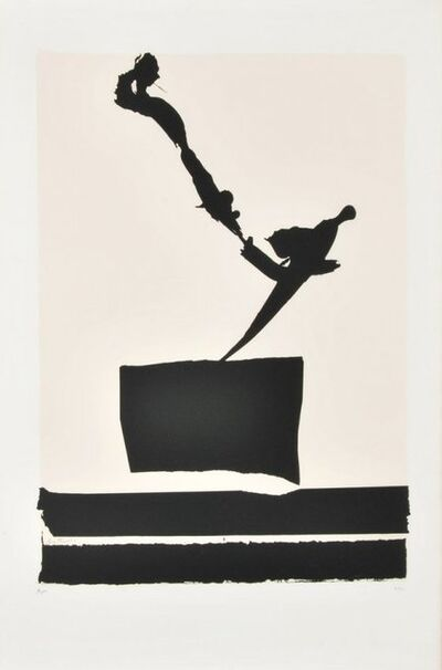 Robert Motherwell, 'Robert Motherwell Africa 5 Series Abstract Print', 1970