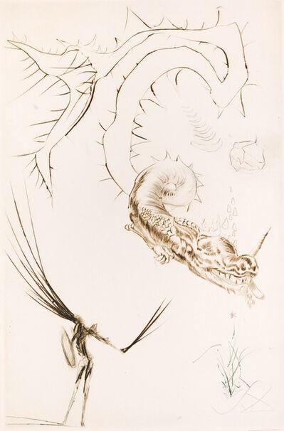 Salvador Dalí, 'Tristan and the Dragon', 1970