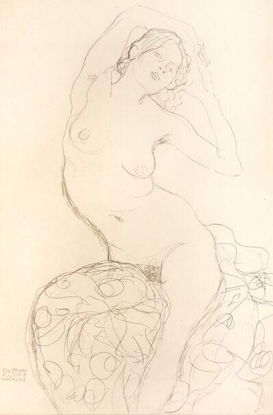 """Gustav Klimt, 'Study of a """"Virgin""""', 1919"""