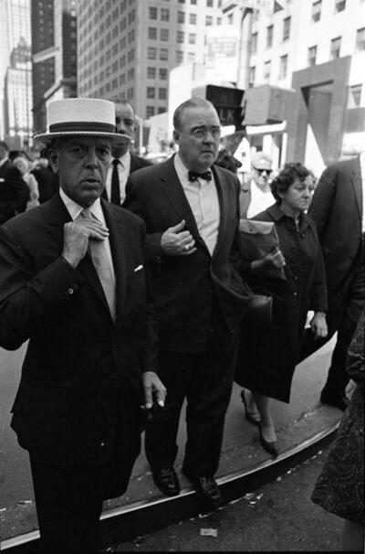 Hervé GLOAGUEN, 'Manhattan, NY 1967', 1967