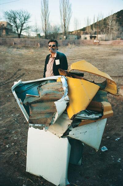 Dan Budnik, 'John Chamberlain  (1927-2011), Cerro Gordo Compound, Santa Fe, 1966'