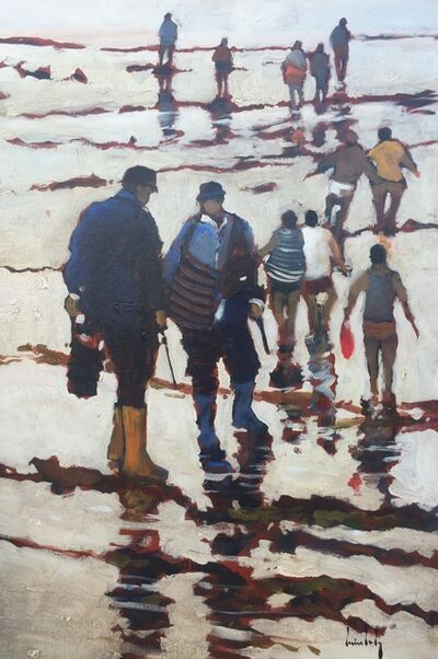 Olivier Suire Verley, 'A Group of Fishermen'