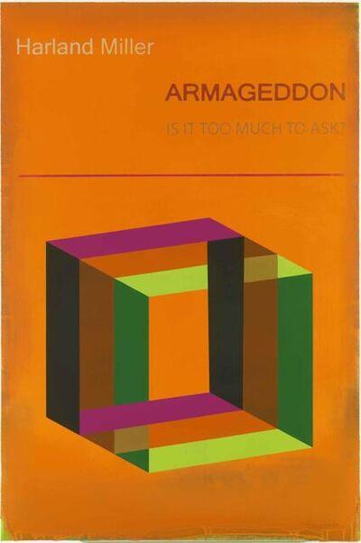 Harland Miller, 'Armageddon (Large)', 2017