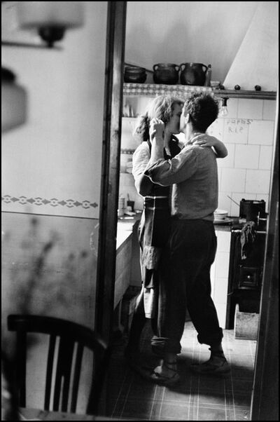 "Elliott Erwitt, '""Couple dancing"" (Valencia, Spain)', 1952"