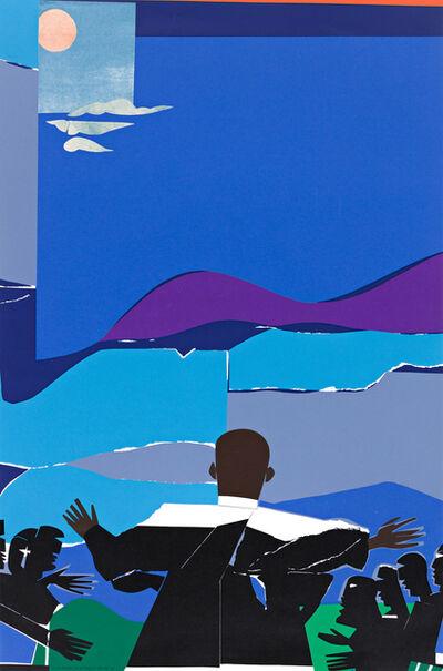Romare Bearden, 'Martin Luther King, Jr. - Mountain Top', 1968