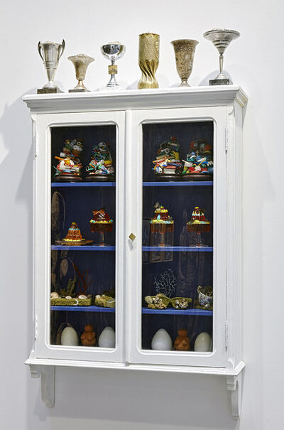 Mark Dion, 'Cabinet of Wonder - World's end', 2019