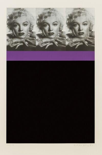 Peter Blake, 'Marilyn Monroe, Black', 2009