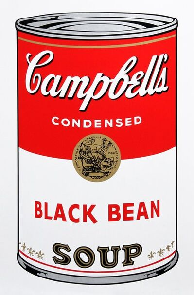 Andy Warhol, 'Black Bean Soup', 1968