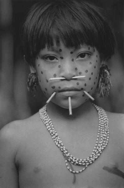 Valdir Cruz, 'Garota de Mokarita-teri / Girl from Mokarita-teri Amazon - Venezuela Yanomami - series', 1997