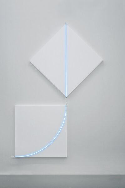 François Morellet, ' Fuite n°1', 2013