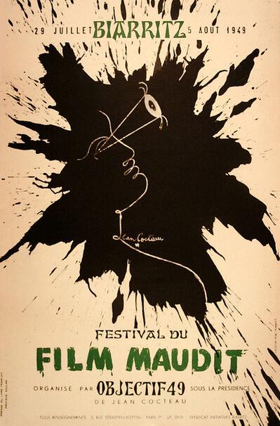 Jean Cocteau, 'FILM MAUDIT - POSTER & MAQUETTE', 1949