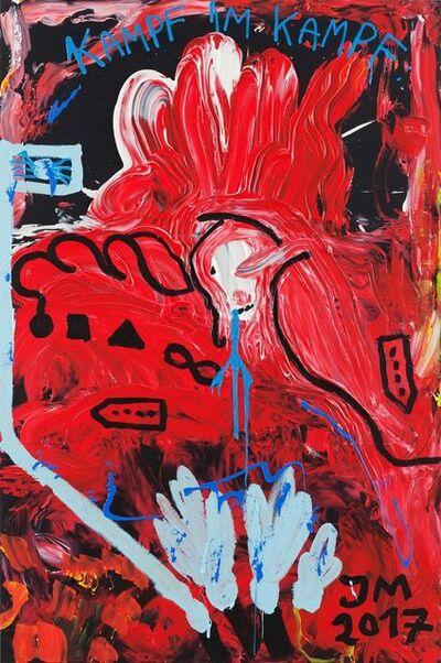Jonathan Meese, 'COLONEL MIXTURUS', 2017
