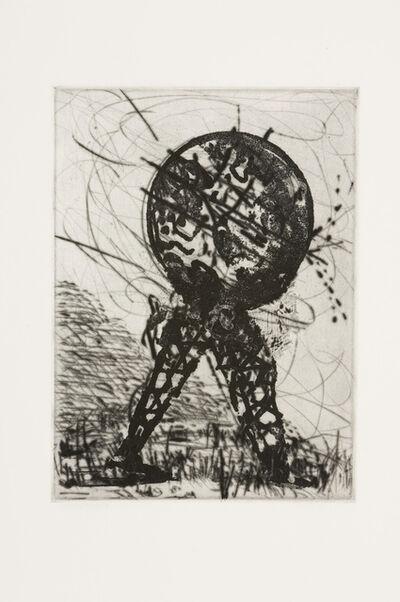 William Kentridge, 'L'Inesorabile Avanzata, Globe', 2007