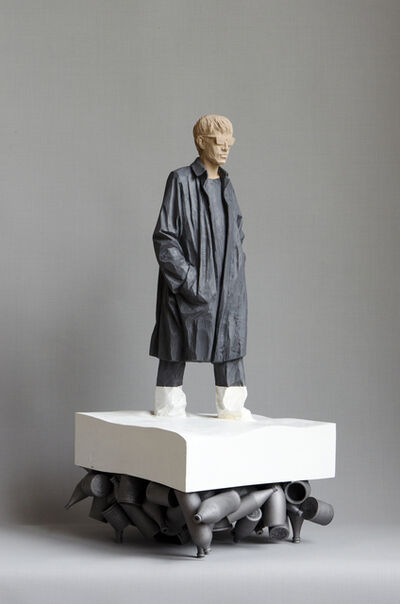 Willy Verginer, 'An der frischen luft', 2017