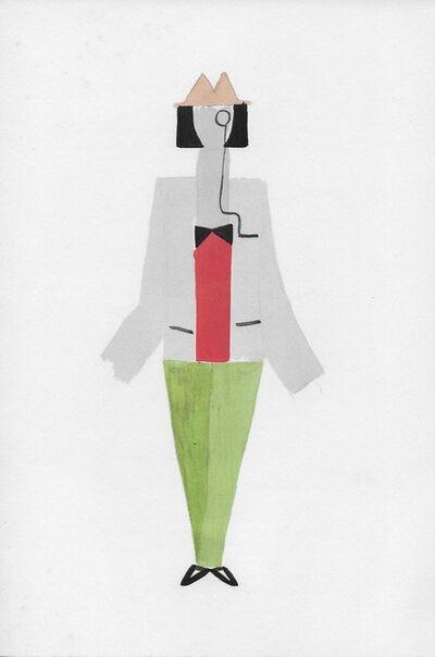 Sonia Delaunay, 'Costume pour Tristan Tzara', 1969