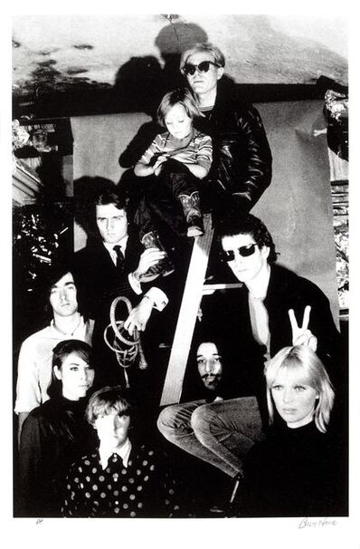 Billy Name, 'Andy Warhol with The Velvet Underground, Nico's son Ari Delon, Mary Woronov, and Gerard Malanga', 1966